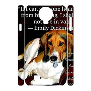 dog DIY 3D Cover Case for SamSung Galaxy S4 I9500 LMc-71615 at LaiMc