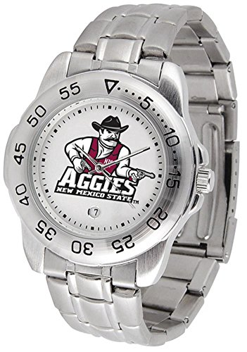 Aggies Mens Watch (New Mexico State Aggies Sport Steel Men's Watch)