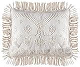 Martha Washington's Choice Pillow Sham - Standard - Antique - with String Fringe (Single Sham)