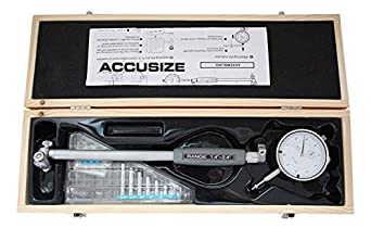 EE20-5006 6 Stem Length 2-6 x 0.0005 Dial Bore Gauge Set Accusize Tools