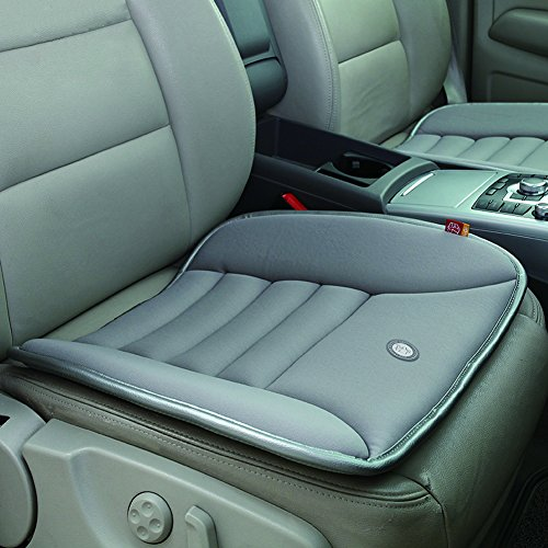 Car Seat Cushion Pad for Car Driver Seat Office chair Home Use Memory Foam Seat Cushion Grey (Cushions Seat Chair Pads)