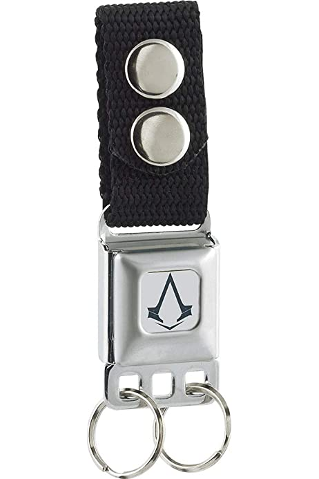 Buckle-Down Mens Keychain-Assassins Creed, Multicolor, One ...