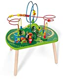 Hape Wooden Railway Jungle Play & Train Activity Table