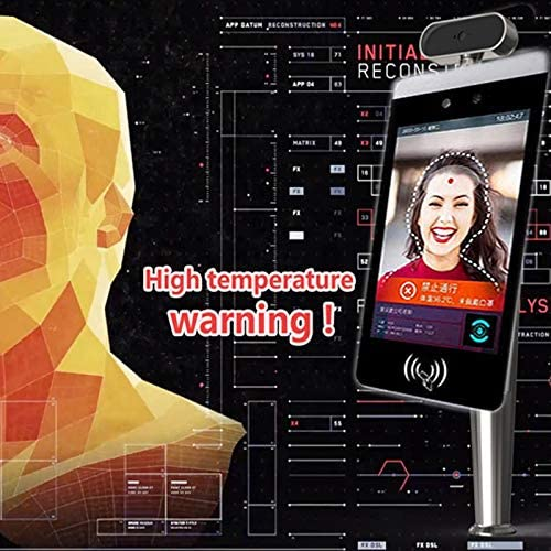 MEILINL Termal IP Camera Facial Recognition Infrared Thermal Imager Camera Non-Contact Human Body Temperature Detect Access Control