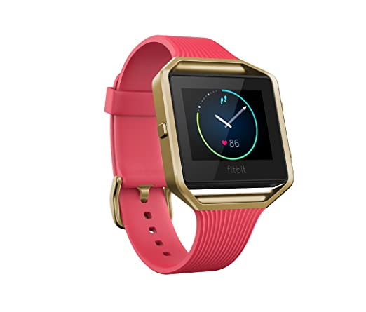 Fitbit Blaze Special Edition, Gold/Pink, Small (International Version)