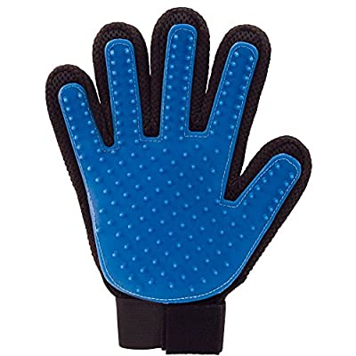 True Touch Deshedding Glove for Gentle and Efficient Pet Grooming from Allstar Products Group