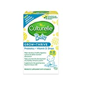 Culturelle Baby Grow + Thrive Probiotics + Vitamin D Drops | Supplements Good Bacteria Found in Breast Milk | Helps Promote a Healthy Immune System & Develop a Healthy Digestive System* | .30 fl. oz.
