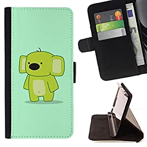 DEVIL CASE - FOR Samsung Galaxy S3 Mini I8190Samsung Galaxy S3 Mini I8190 - Funny Cute Friendly Koala - Style PU Leather Case Wallet Flip Stand Flap Closure Cover