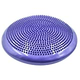 Wobble Cushion, PeleusTech Multifuction Inflatable Balance Disc Stability Disc Core Training Cushion Wiggle Air Seat with Pump