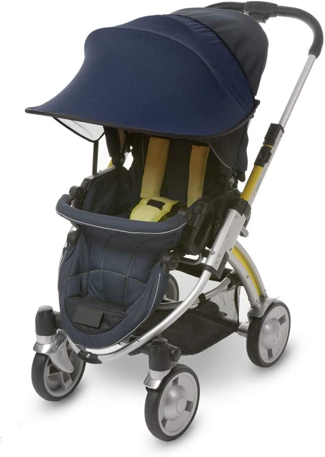 7 Available Colors Manito Sun Shade for Strollers and Car Seats Orange