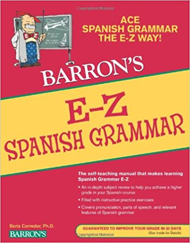 Workbook 4th grade spanish worksheets : Amazon.com: E-Z Spanish Grammar (Barron's E-Z Series ...