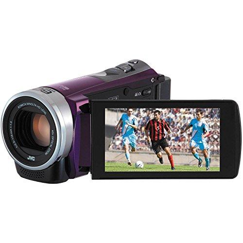 JVC Everio GZ-E300VUS HD 40x Optical Zoom HD 1080p Camcorder w/Touchscreen (Certified Refurbished)