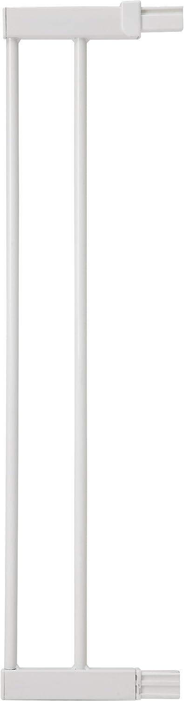 Safety 1st 24294310 Extensión para Easy Close Metal, Flat Step, Auto Close, Extensión de 14 cm para barrera de seguridad metálica, color blanco - 14 cm