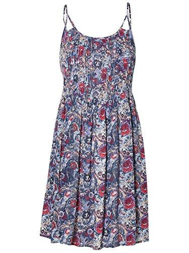aop blue purple Grove Kleid Pacific w O'Neill pink Kleid Print 4Y6TWq