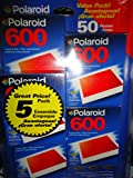 Polaroid 600 Instant Color Film - 5-Pack - 50 Photos