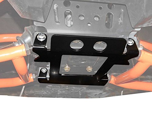 SuperATV Polaris RZR 1000/4 / 900 / S/Turbo / General Front Suspension Frame Stiffener - Black