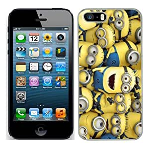 Despicable Me Minions Film Case Fits Iphone 5s Cover Hard Protective Skin 1 for Apple I Phone 5 S Mobile