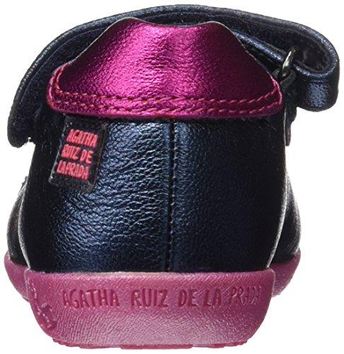 Agatha Ruiz de la Prada 161903, Bailarinas para Bebés Azul Marino (Metalcris)