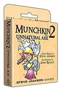 Amazon.com: Munchkin 2–Unnatural Axe ...