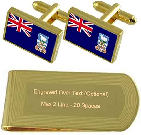 Select Gifts Civil Ensign Civil Australian Flag Gold-Tone Tie Clip Engraved Personalised