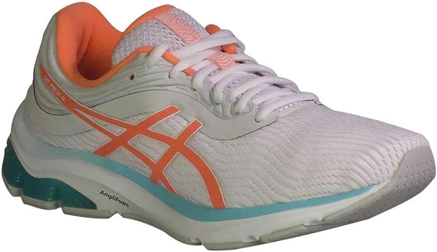 ASICS Gel-Pulse 11 - Zapatillas de running para mujer, color blanco y coral: Amazon.es: Zapatos y complementos