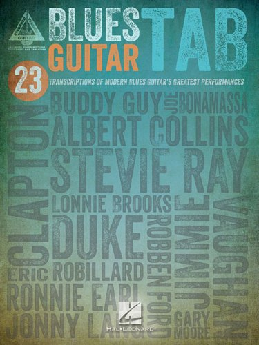 Guitar Songbook Blues Tab - Blues Guitar Tab (Guitar Recorded Versions)