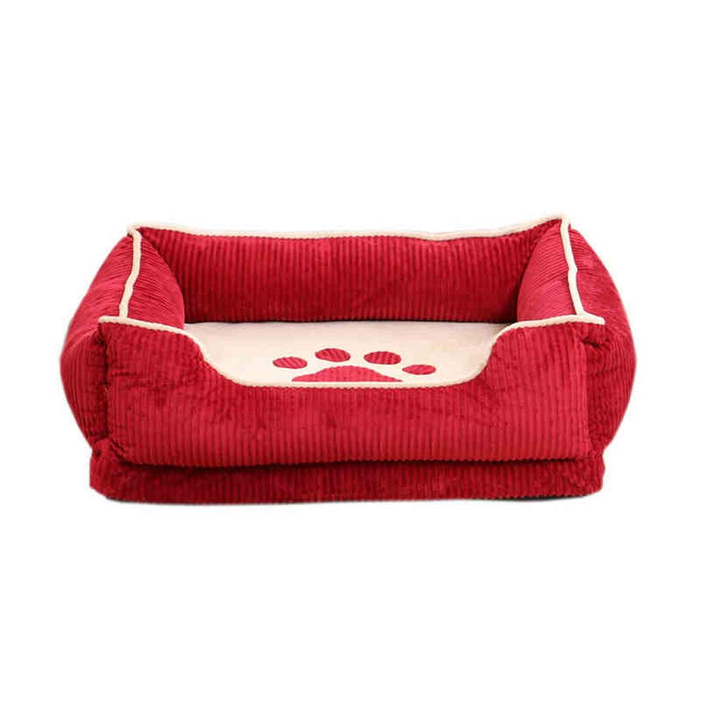 XXL DUHUI Kennel removable and washable sofa bed pet four seasons large mattress (Size   XXL)