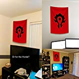 SUIBIAN World of Warcraft Horde Banner Flags