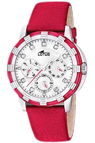 Lotus Glee Womens Analog Quartz Watch with Leather Bracelet 15746/D