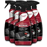 Weiman Ceramic & Glass Cooktop Cleaner - 22 Ounce [6 Pack] - Daily Use Professional Home Kitchen Cooktop Cleaner and Polish Use On Induction Ceramic Gas Portable Electric
