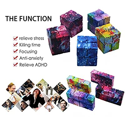 Pulison(TM) for kids Mini Cube puzzle toys Stress Relief Fidget Anti Anxiety Improve Foucs Good for Children Development