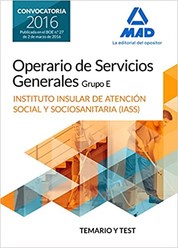 Amazon.com: Operario/a de Servicios Generales, grupo E , del ...