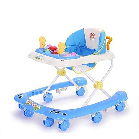 Andador Bebe El niño del bebé Walker Male bebé Anti-vuelco ...