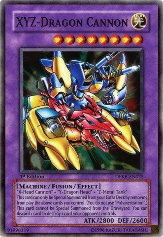 Yu-Gi-Oh! - XYZ-Dragon Cannon (DPKB-EN025) - Duelist Pack: Kaiba - Unlimited Edition - Super Rare