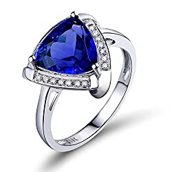 Tanzanite Diamonds Ring