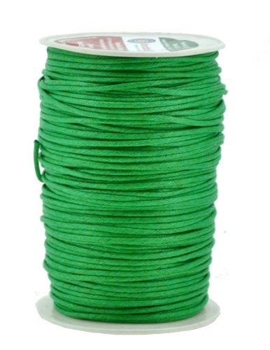 green waxed twine - 2
