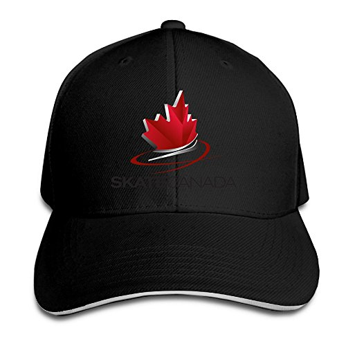 Runy Custom Skate Canada Logo Adjustable Sandwich Hunting Peak Hat & Cap - Uk Kors M