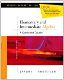 Elementary Algebra Media Enhanced Edition Dvd Fourth Edition, Roland E. Larson, Robert P. Hostetler, 0618753966