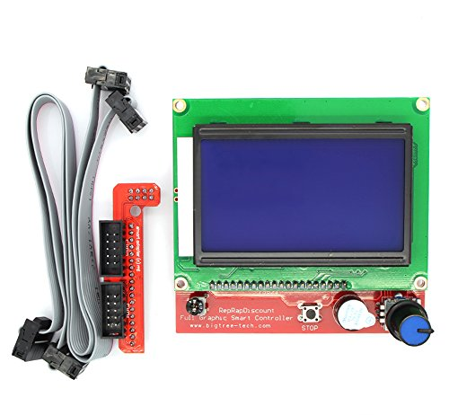 Anycubic LCD 12864 Graphic Smart Display Controller Module for RAMPS 1 4  RepRap 3D Printer Mendel Prusa Arduino