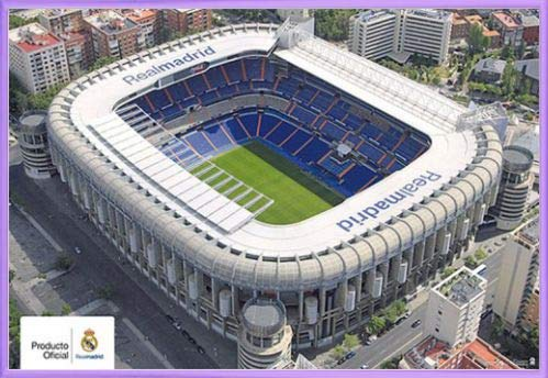 1art1 Fútbol Póster (91x61 cm) Real Madrid, Estadio Santiago ...