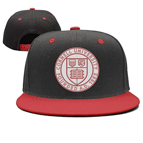 afe59861330 Unisex red Snapback Hat for Mens Womens Cornell-University- Cute Caps