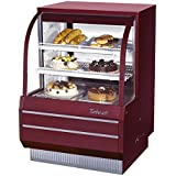 Turbo Air (TCGB-36-DR) - 36 Curved Glass Non-Refrigerated Dry Bakery Display Case- Restaurant Equipment