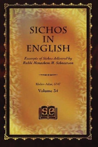 Sichos In English: Excerpts of Sichos delivered by Rabbi Menachem M. Schneerson