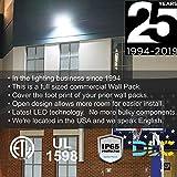 LED WALL PACK PLASTIC LENS