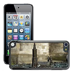 Hot Style Cell Phone PC Hard Case Cover // M00169696 Relief Metal Ulm Cathedral M??nster // Apple ipod Touch 5 5G 5th