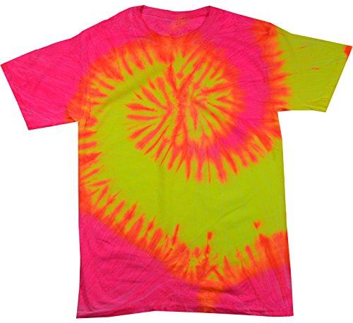 Colortone Tie Dye T-Shirt 4X Flo Swirl