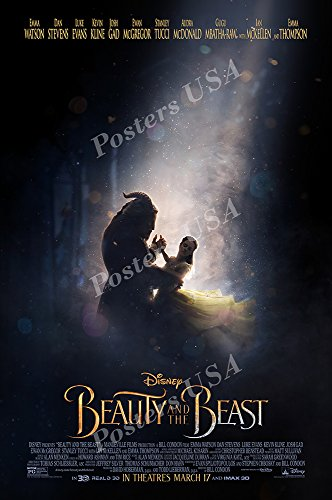 """Posters USA - Beauty and the Beast 2017 Movie Poster GLOSSY FINISH) - MOV532 (24"""" x 36"""" (61cm x 91.5cm))"""