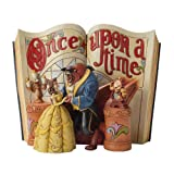 Enesco Disney Traditions by Jim Shore Beauty and The Beast Storybook Figurine, 6-Inch (Kitchen)