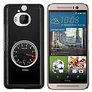 "Be-Star Único Patrón Plástico Duro Fundas Cover Cubre Hard Case Cover Para HTC One M9+ / M9 Plus (Not M9) ( Nivel de energía"" )"