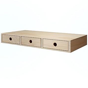 Amazon.com: Cosmetics Makeup Organizer - Beautiful Wood Box with ...